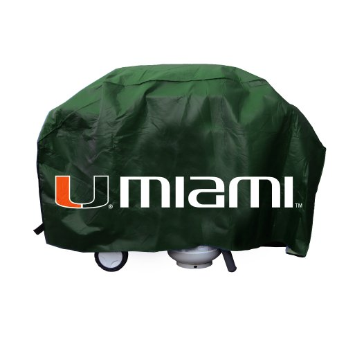 Miami Grill (Rico Industries NCAA Miami Hurricanes Vinyl Grill Cover)