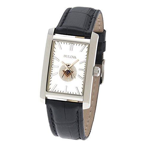 Men's Stainless Steel Bulova Freemason Masonic Blue Lodge Watch Stainless Steel Masonic Watch
