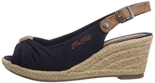 gamme complète d'articles nouveau style et luxe la plus récente technologie Tom Tailor 7590901, Sandales compensées femme