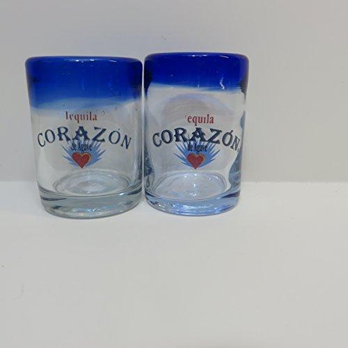 Corazon Tequila Shot Glass Set