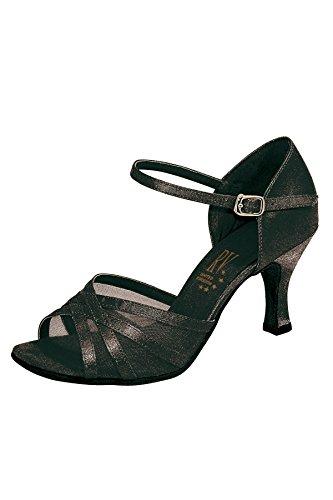 Aphrodite Roch pour Valley de chaussures Noir danse latine femmes 6vwg6