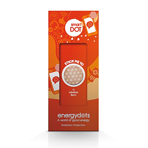 Price comparison product image energydots Smartdot Radiation Protection and Harmonizing Dot, Powerful EMF Protection for Cell Phones, Wi-Fi Router, PC, Tablets, Smart Meters, etc., Retune Energy Emissions from any Device
