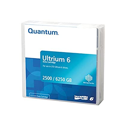 Image of Blank Media Quantum Standard Storage Media - LTO Ultrium Black (MR-L6LQN-LP)