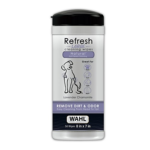 Wahl Refresh Cleaning Wipes Lavendar Chamomile #820018 - Pet Wipes For Dogs