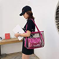 Xinxinyu Bolsa Playa Totes Transparente Mujer | Bolso Hombro ...