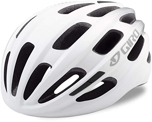 Giro Isode Bike Helmet (White) (Best Road Bike Helmet Under 100)