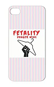 Satire Funny Offensive Fatality Fetality Satire TPU Black For Iphone 5/5s Fetality Case