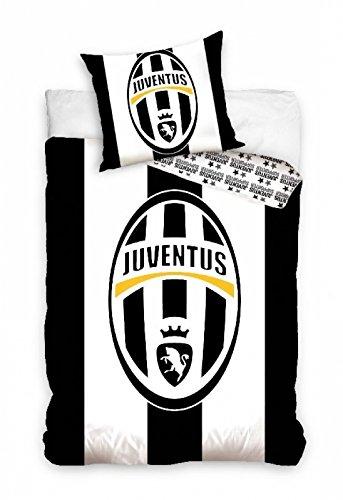 Copripiumino Juventus Singolo.Copripiumino Cotone 160x200 Cm Federa 70x80 Cm Singolo Juventus