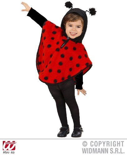Childrens Lady Bird Fancy Dress Costume Insect Bugs Life Outfit 3-4 Yrs by Retail Zone
