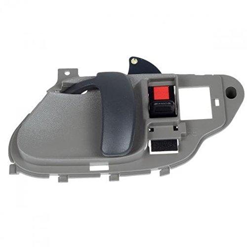 AUTEX Interior Front/Rear Right Passenger Side Door Handle Compatible with Chevy Tahoe GMC Yukon 1995 1996 1997 1998 1999 2000 Chevrolet GMC C/K 1500 2500 3500 Pickup Suburban 77186 15708044