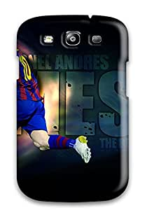 High Quality Lionel Messi Barcelona Case For Galaxy S3 / Perfect Case