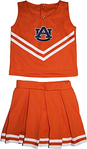 Auburn University Tigers Toddler and Youth 3-Piece Cheerleader Dress