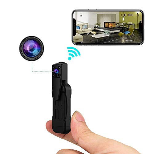 Hidden Camera 1080p WiFi Nanny Cam Pen 155 Degrees Wide Angle Lens Night Vision and Motion Detection Remote View For Sale