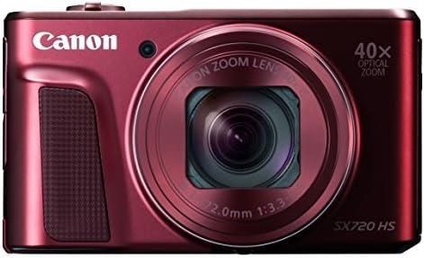Canon digital camera PowerShot SX720 HS optical 40x zoom PSSX720HSRE (Red) [International Version, No Warranty]