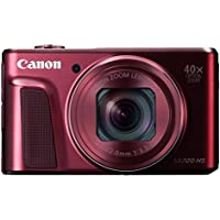 Canon digital camera PowerShot SX720 HS optical 40x zoom PSSX720HSRE (Red) [International Version, No Warranty] Review Review Image