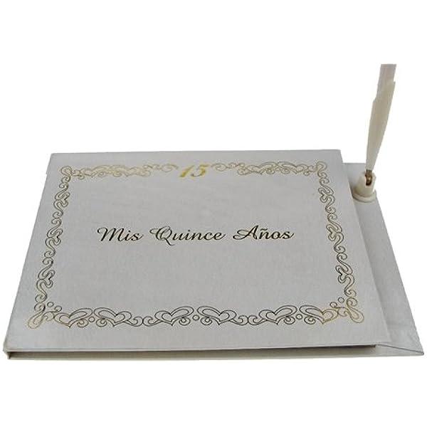 Guestbook Custom Quince Guest Book Quincea\u00f1era Guest book Sweet 16 Guest Book Personalized Guest Book Wedding Guest book Sign in Book