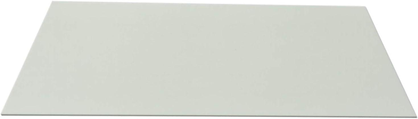plaque fibre de verre /époxy 1,5 mm Fiberglass FR4 white sheet size 520x250 mm
