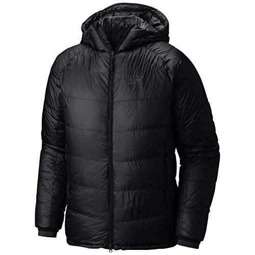 Ripstop Hooded Down Jacket (Mountain Hardwear Phantom Hooded Down Jacket - Black - Mens - XL)