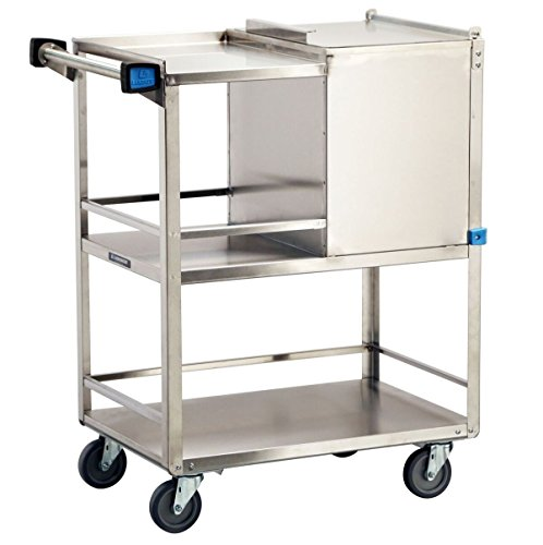 Lakeside 230 Ice Cart, Stainless Steel, 50 lb. Capacity, 31-1/4
