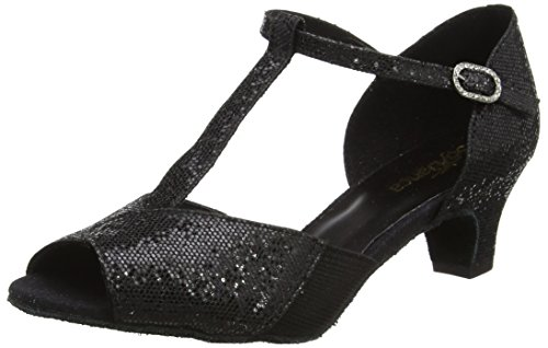 Shoes Women's Black Dance Black Ballroom Bl33 Danca So qXv1q