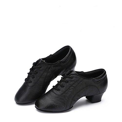 En Vachette Male taille De Danse 28 22 Adulte Chaussures Uk 7 Noires Taille Cuir Hutt Antidrapantes Latine Rsistantes 0cm 0cm L'usure IxgFY8Wq