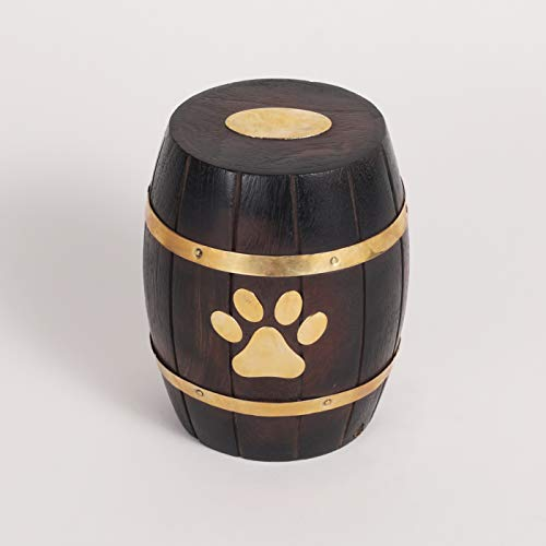 wooden dog urns - 3