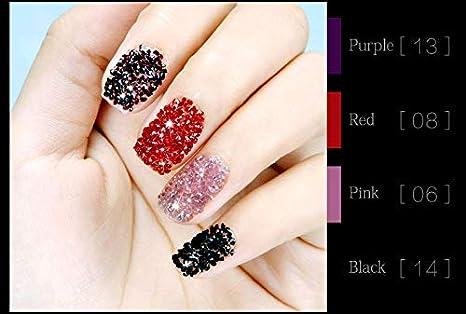 1440Pcs Micro Diamond DIY Nails Rhinestones Crystal Mini Rhinestones Need Glue Nail Art Decoration (09): Amazon.es: Belleza