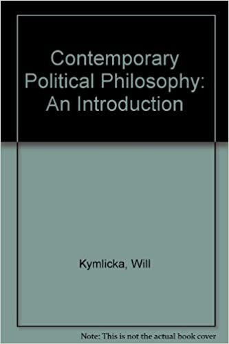 Book Contemporary Political Philosophy: An Introduction