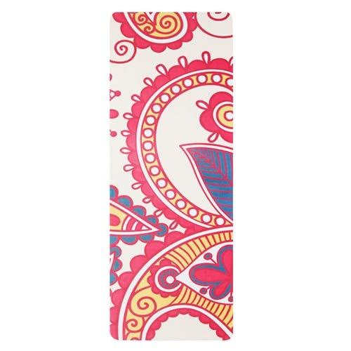 YOOMAT 183 cm  68 cm  1,5 mm Naturkautschuk Yoga-Matte mit Wildleder-Print