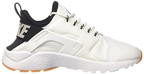 Mujer Gum Ultra para Air White Yellow Nike Run Wmns Huarache Black White Blanco Entrenadores UxUy4FA