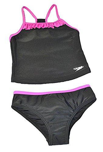 Speedo Girls Racerback 2-Piece Tankini Swimsuit (14)