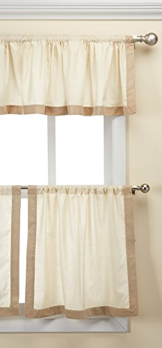 Elrene Home Fashions Wilton Window Tier, 30