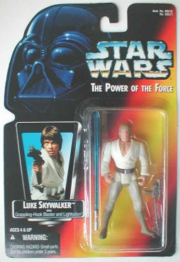 Kenner Luke Skywalker (Luke Skywalker with Grappling-Hook Blaster and Lightsaber Action Figure)