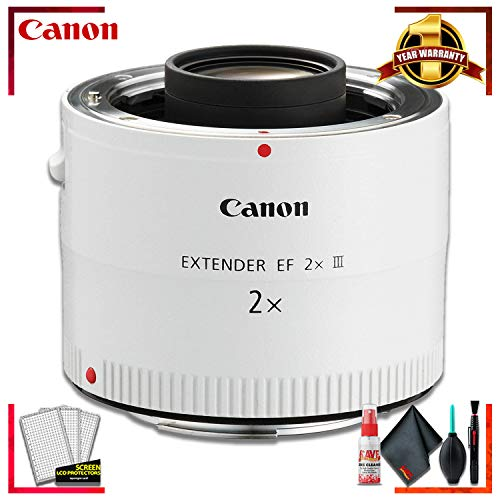 Canon Extender EF 2X III (International Model) + Cleaning Kit