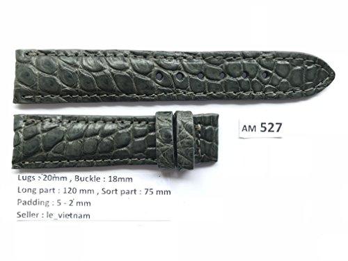 Grey Alligator Strap - 7