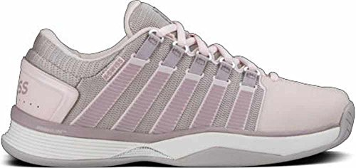 K-Swiss Women's Hypercourt Tennis Shoe, Mauve Chalk/Cloud Gray, 7 M US