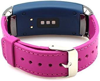 Correa de reemplazo de piel para reloj inteligente Samsung Gear ...