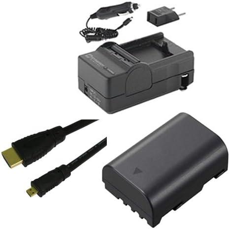 HDMI6FMC AV /& HDMI Cable SDDMWBLF19E Battery Panasonic Lumix DMC-GH4 Digital Camera Accessory Kit Includes SDM-1565 Charger
