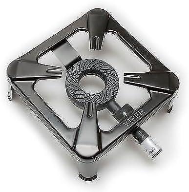 7/9/14kw Gas butano Estufa de hierro fundido parrilla de cocina ...