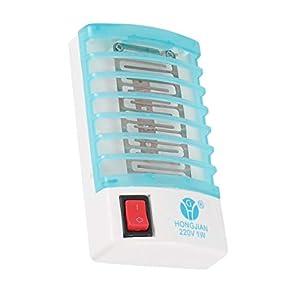 Fotocatalizzatore Lampada anti-zanzara Lampada repellente per zanzare Silenzioso Bug Insetto Luce Pest Control Luce UV… 1 spesavip