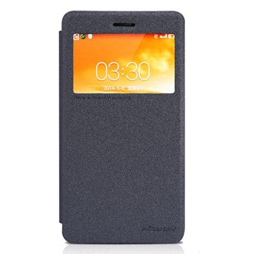 Black Case Cover + Screen Protector For Lenovo S860 Nillkin NK90177