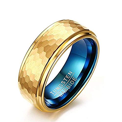 Cheap LOVE Beauties Women's Rose Gold Titanium Wedding Band Ring (7) …