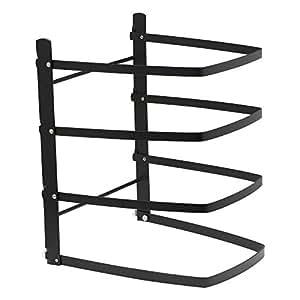 linden sweden baker 39 s 4 tier adjustable metal cooling rack cookie sheet rack. Black Bedroom Furniture Sets. Home Design Ideas