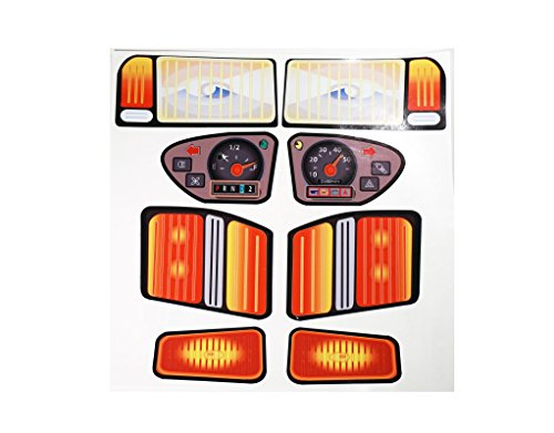 New Replacement Decals Fits Little Tikes Classic Pick up Truck (No Eyes) (Best Classic Pickup Trucks)