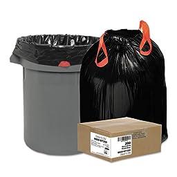 WBI1DT200 Drawstring Trash Liners,1.2 Mil,30Gal.,30-1/2\