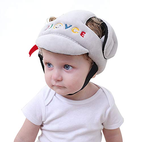 shengpin SHP Adjustable Baby Toddler Safety Helmet Hat Head Protection,Infant Protective Safety Hat, Protection Hat for Biking Walking Crawling
