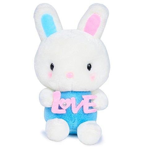 [USATDD Rabbit Plush Stuffed Animal Soft Doll Bedtime Toy Lovely Bunny 9