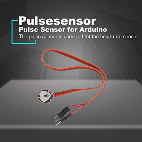 Pulsesensor Heart Rate Beat Pulse Sensor Module for Arduino Raspberry Pi  Black
