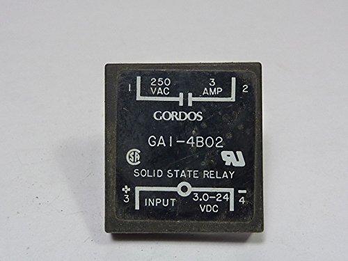 Gordos GA1-4B02 Solid State Relay 3A 250VAC 3-24 VDC