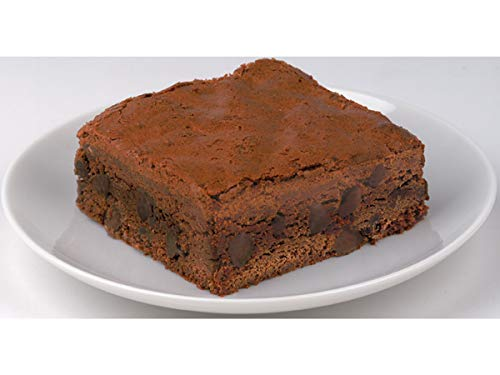 Davids Sliced Cookies Chocolate Chip Brownie, 4 Ounce -- 48 per case.